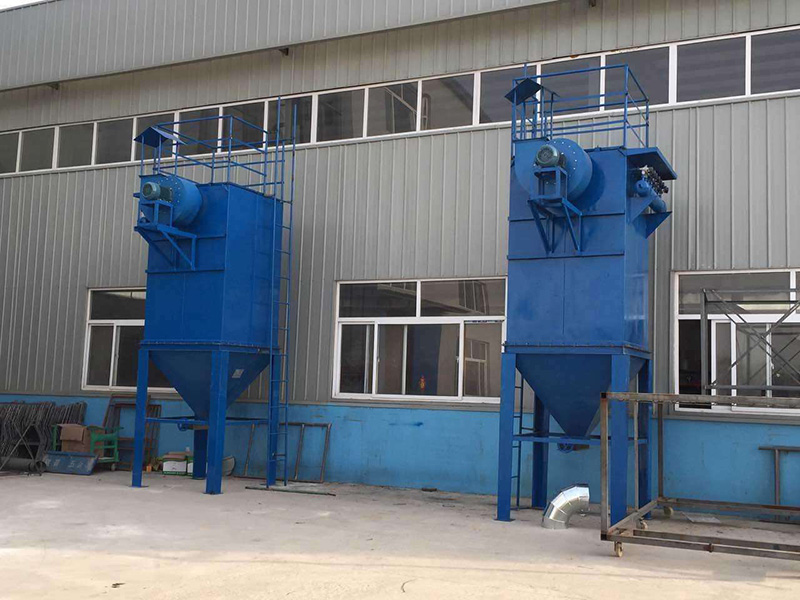 建材厂用CMC小型袋式脉喷单机除尘器